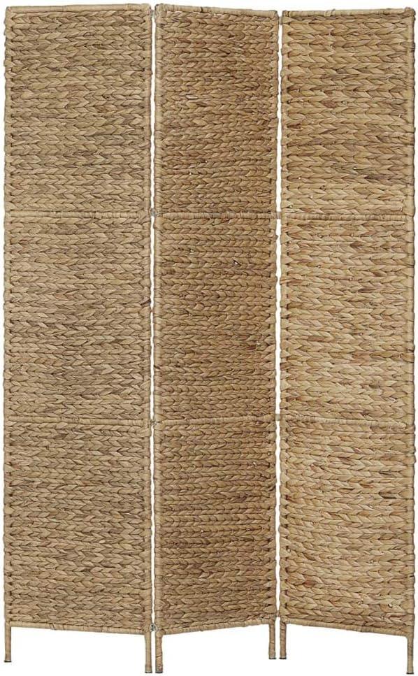 Hogar y Mas Paravento divisorio per ambienti country 3 e 4 pannelli color pino e ciliegio per spogliatoio 3 pannelli di pino economico