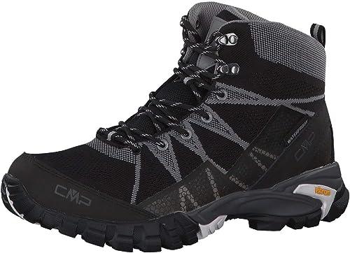CMP 38Q9977, Chaussures de Randonnée Hautes Homme - Noir - Noir, 41 EU