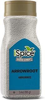 iSpice PREMIUM ARROWROOT POWDER |Natural Thickener|Gluten-Free|Non-GMO |5.4oz (155g)