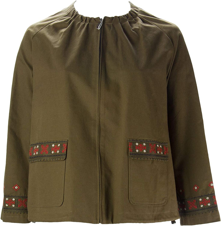 MARINA RINALDI Women's Camaiore Embroidered Jacket