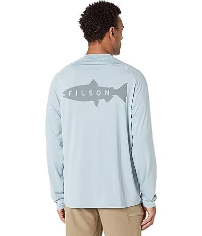 Filson Long Sleeve Barrier T-Shirt (SMU) (Stone Blue