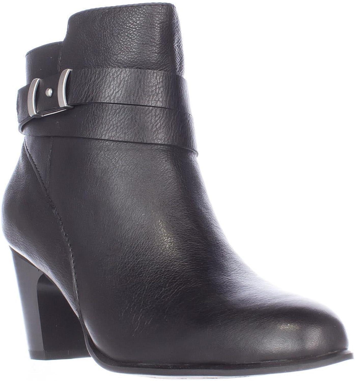 Giani Bernini GB35 Calae Ankle Boots, Black, 10 US