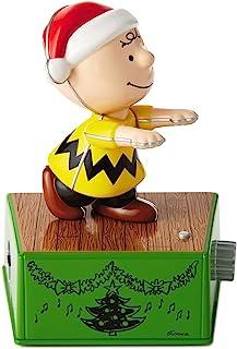 Hallmark Peanuts Charlie Brown Christmas Dance Party Figurine