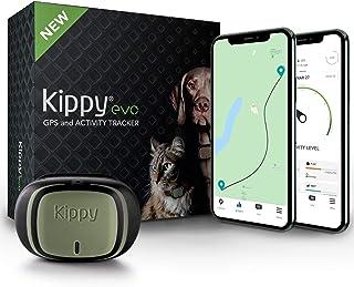 Kippy Evo - Collare GPS per Cani e Gatti con Localizzatore e Rilevatore dell'Attività e dello Stato di Salute - Accessori ...