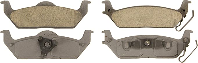 Wagner ThermoQuiet QC1012 Ceramic Disc Pad Set With Installation Hardware, Rear