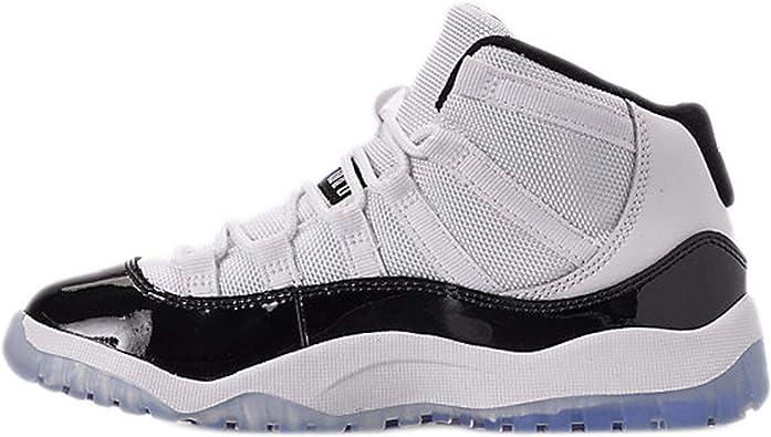 Nike Jordan Kids Jordan 11 Retro Bp Black/Gym Red/White/Anthracite Basketball Shoe