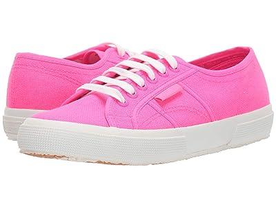 Superga 2750 COTU Classic Sneaker (Pink Neon) Women