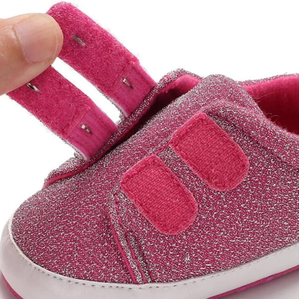 Spring and Autumn 0-1 Years Old Baby Soft Bottom Shoes Non-slip Baby Toddler Shoes Shoes for Toddlers with On//Off Switch