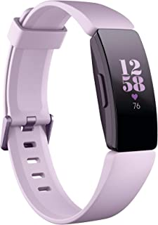 Fitbit Inspire Hr Heart Rate & Fitness Tracker, Lilac, One Size (s & L Bands Included)