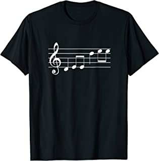 DeeDee Musical notes Tshirt Name or Nickname in Music notes