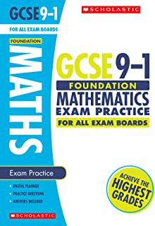 Maths Foundation Exam Practice Book for All Boards