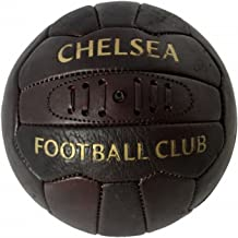 Chelsea FC Official Retro Heritage Leather Soccer Ball