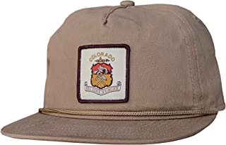Ouray Sportswear 5 Panel Old School Rope Hat Cap
