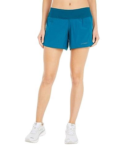 Brooks Chaser 5 Shorts (Deep Sea) Women
