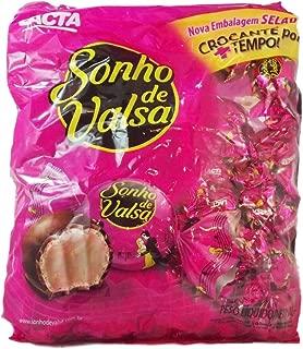 Bonbon Sonho de Valsa Lacta 35.27oz | Bombom Sonho de Valsa Lacta 1kg (PACK OF 02)