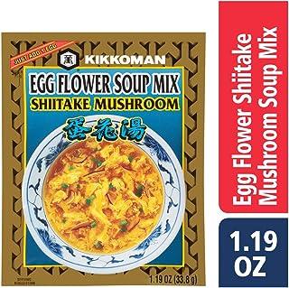 Kikkoman Egg Flower Shiitake Mushroom Soup Mix 1.19 oz (24 Pack)