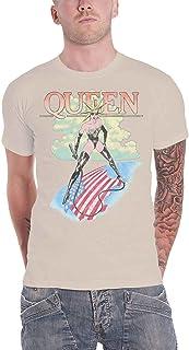 Queen T Shirt Mistress Band Logo Vintage 新しい 公式 メンズ ベージュ
