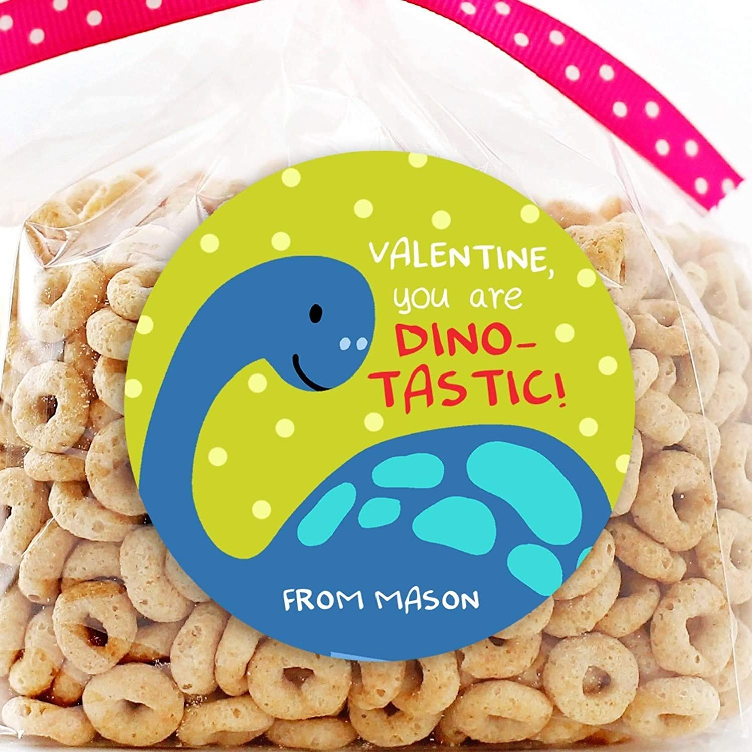 Dinosaur Max 72% OFF Valentine's Day Personalized - Stickers Favor Recommended Valentine