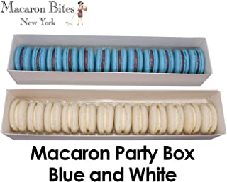 Macarons - Blue and White