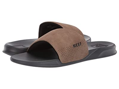 Reef One Slide (Grey/Tan) Men