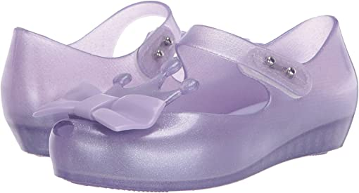 Clear Glitter Lilac