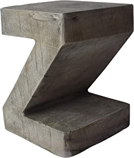 Best outdoor concrete side table Reviews
