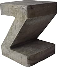 Christopher Knight Home 305834 Jingle Outdoor Weight Concrete Side Table, Light Gray