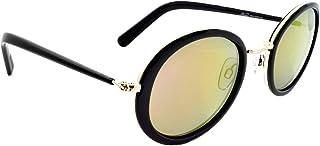 Retro Sunglasses For Women - Light Green, Rech202C3, Round Frame