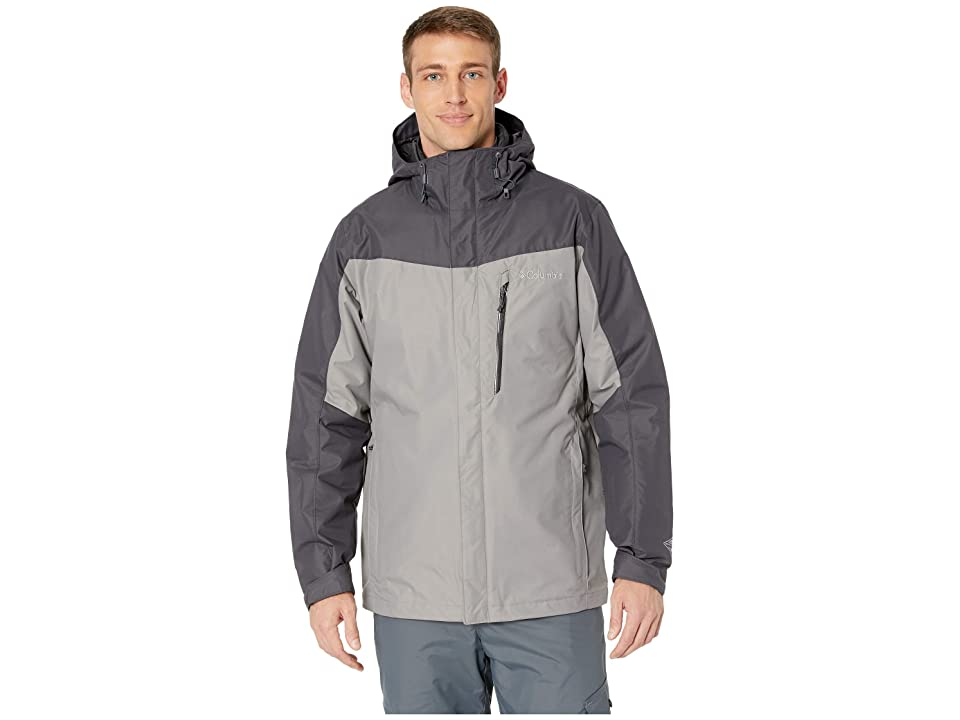 Columbia Whirlibirdtm III Interchange Jacket (Boulder/Shark/Black) Men