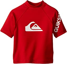 Quiksilver Kids All Time Short Sleeve Rashguard (Toddler/Little Kids)