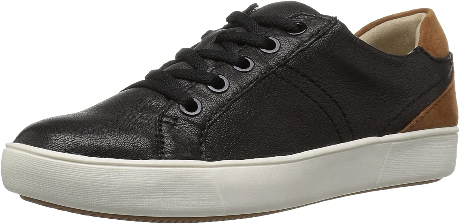 Naturalizer Women's Morrison Fashion Sneaker, Black, 10.5 M US