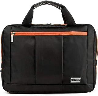 El Prado Collection 3 in 1 Backpack and Messenger Bag for Microsoft Surface Pro 4 12 Tablet & Surface Pro 3 12 Tablet (Orange)