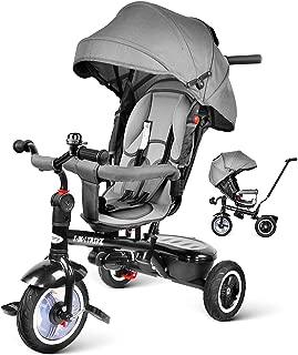 besrey 7 en 1 Triciclos Bebes reclinable con Asiento