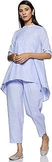Gerua Women's Cotton a line Salwar Suit Set