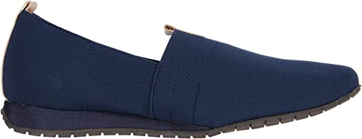 Navy/Cuoio Elastic/Leather