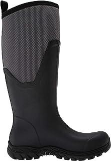 Muck Boot womens Arctic Sport II Tall, Black/Gray, 11 M US