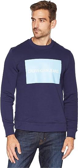Institutional Logo Crew Neck Sweatshirt