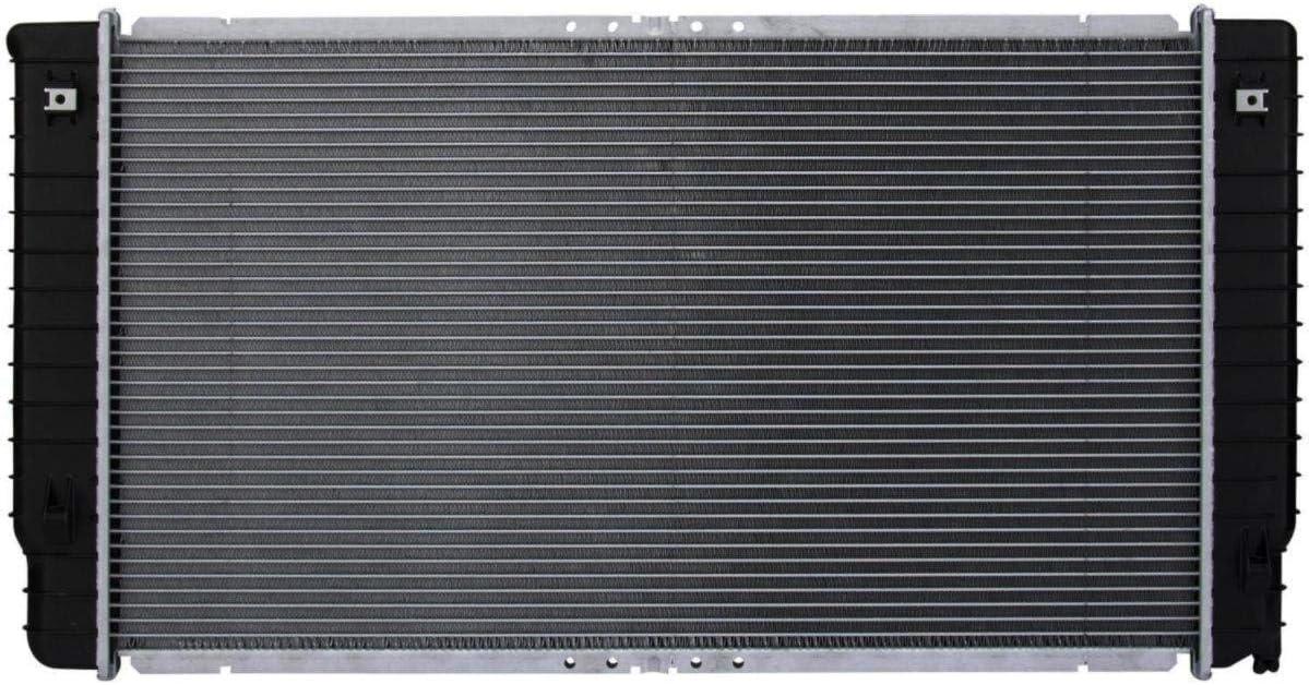 Auto AT New item Aluminum Plastic Max 44% OFF Radiator V8 Row 1 For4.0L