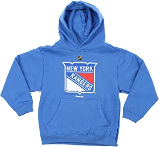 (X-Large (18-20), New York Rangers) - NHL Boys Youth & Kids (4-20) Primary Logo Pullover Hoodie