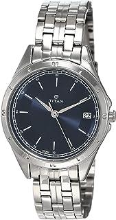 Titan Analog Blue Dial Women's Watch -NM2556SM02 / NL2556SM02