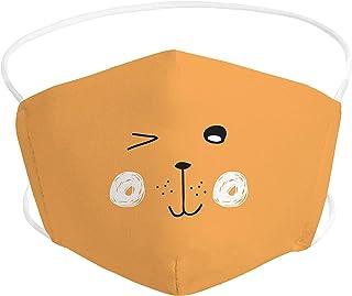 Pekebaby Mascarilla Infantil homologada de tela lavable reutilizable 2 capas + bolsillo con 1 filtro incluido, diseño 006 ...