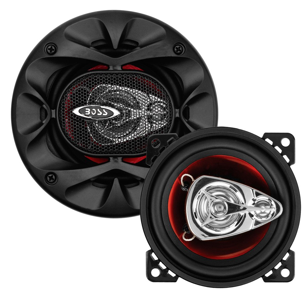 4 Inch 225 Watts of Power Per Pair and 112.5 Watts Each Full Range Easy Mounting Sold in Pairs BOSS Audio Systems CH4230 Car Speakers 3 Way