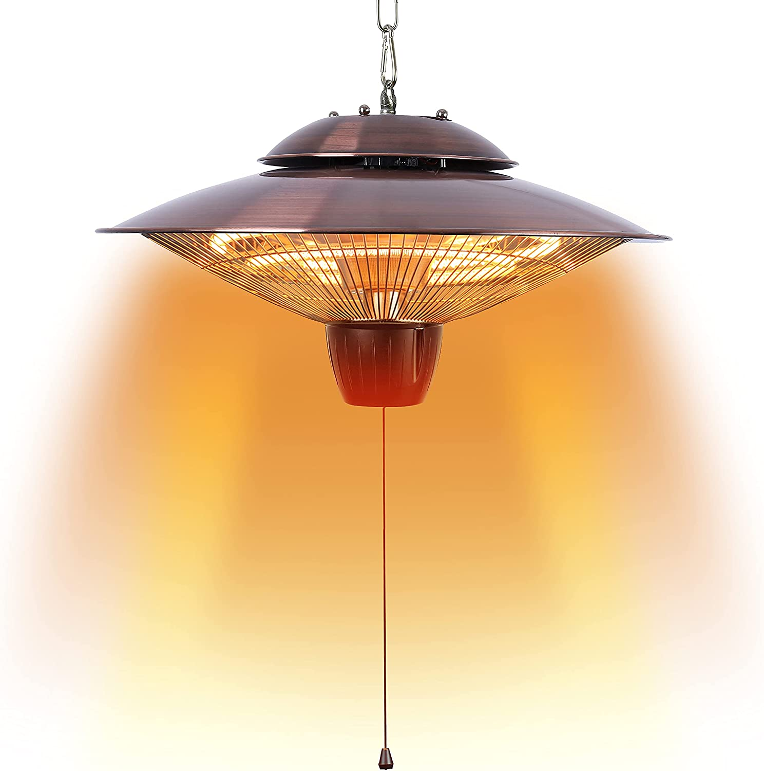 DONYER POWER Max 49% OFF 1500W Electrical Patio trust Heater Out Ceiling Mounted