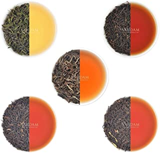 Sponsored Ad - VAHDAM, Oolong Tea Leaves Sampler - 5 TEAS, 25 Servings | 5 Premium Variety Of Oolong Teas for Weight loss ...