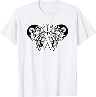 f97e6973a227c Lung Cancer Awareness T Shirt White Ribbon Butterfly
