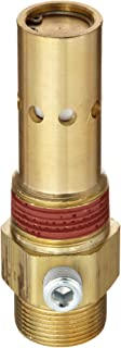 Midwest Control C5050TT In-Tank Check Valve Compression Inlet x MPT Outlet 450 psi Max Pressure 400 Degree F Max Temperature Double Tap 1//2 x 1//2 1//8 NPT Tapped Port