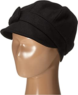 SDH3404 Wool Cap with Self Fabric Bow