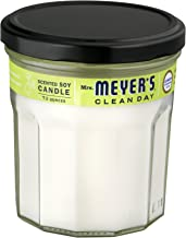 Mrs. Meyer's Clean Day Soy Candle, Lemon Verbena, 7.2-Ounce Jars (Pack of 6)