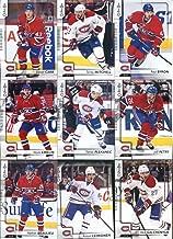 2017-18 O-Pee-Chee Hockey Montreal Canadiens Team Set of 18 Cards: Max Pacioretty(#8), Carey Price(#50), Andrei Markov(#90), Phillip Danault(#111), Brendan Gallagher(#143), Alexander Radulov(#173), Andreas Martinsen(#211), Andrew Shaw(#230), Shea Weber(#242), Artturi Lehkonen(#290), Nathan Beaulieu(#306), Alex Galchenyuk(#345), Alexei Emelin(#373), Jeff Petry(#394), Tomas Plekanec(#409), Daniel Carr(#431), Paul Byron(#456), Torrey Mitchell(#483)