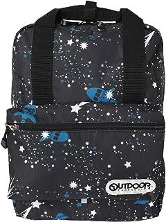 [アウトドアプロダクツ] OUTDOOR PRODUCTS キッズ リュック スクエアリュック ボックス型 子供 通学 軽量 小さめ 12L ハーネス付き 女の子 男の子